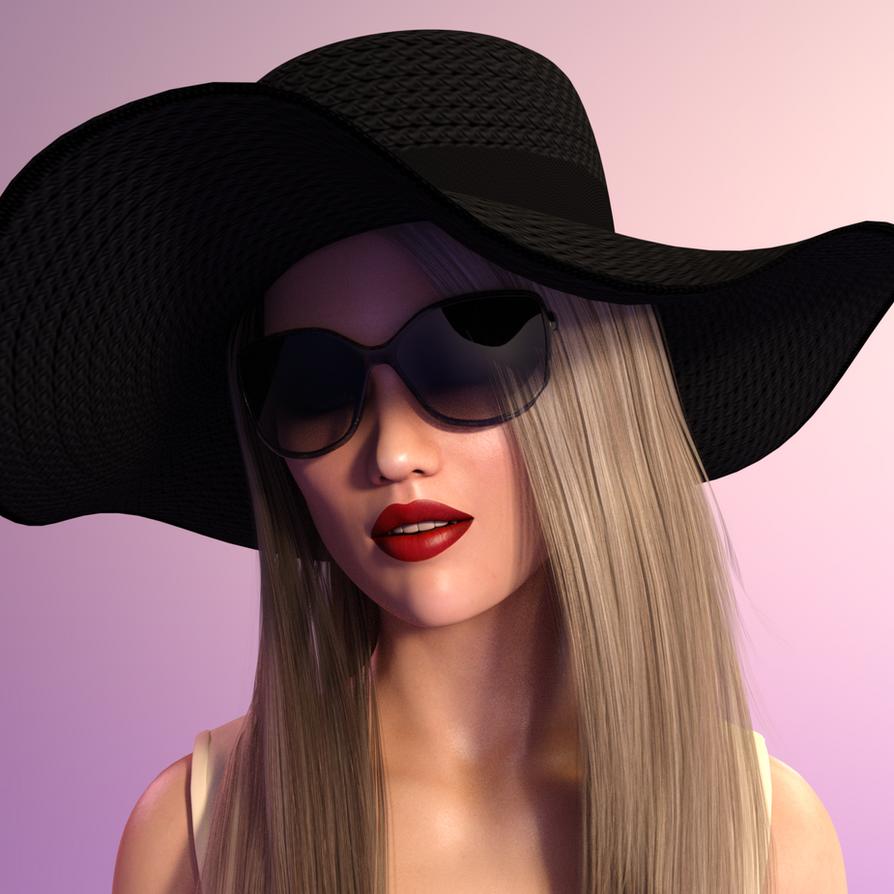 GATC Chapter 6 - Portrait Scarlett Knight 2 by UnseenHarbinger