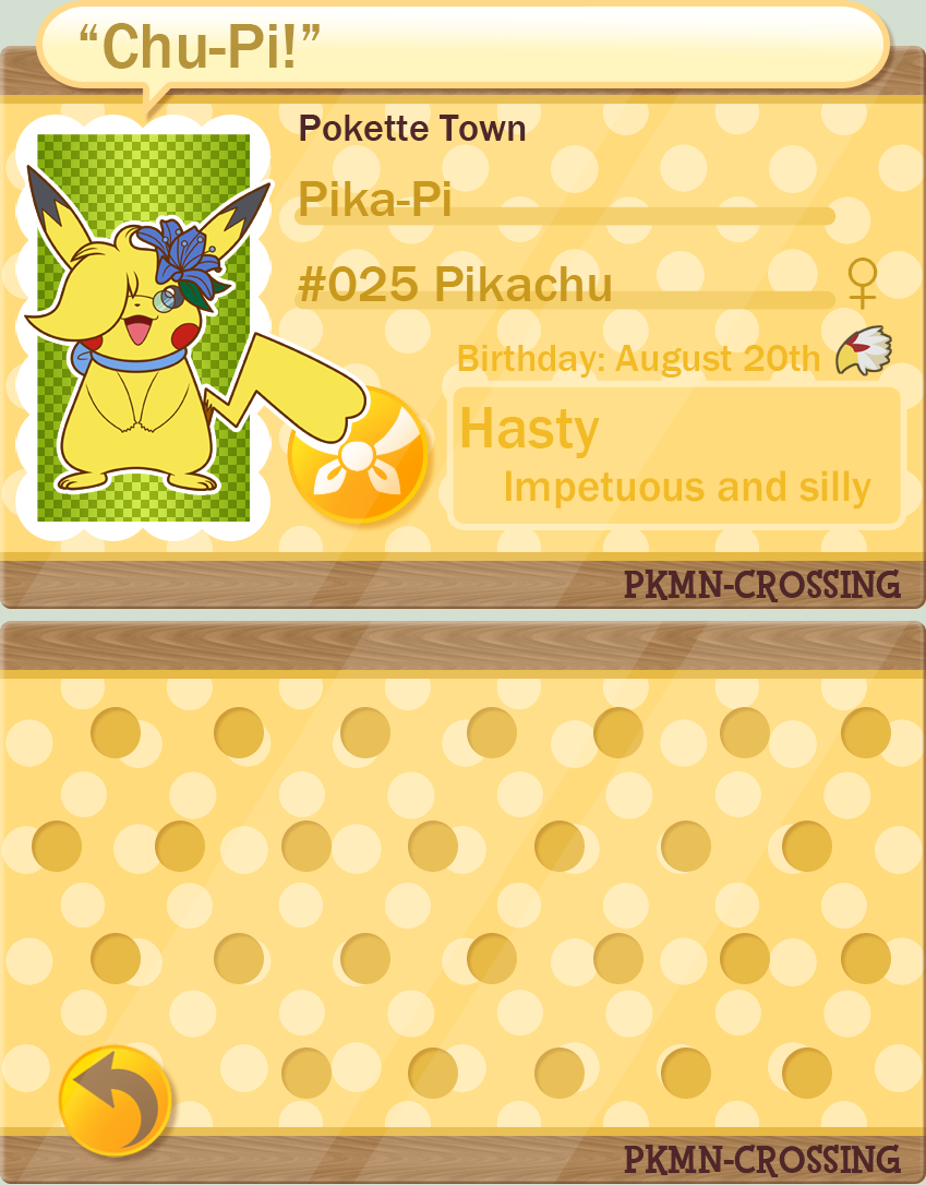 PKMN-Crossing: Pika-Pi by Volmise