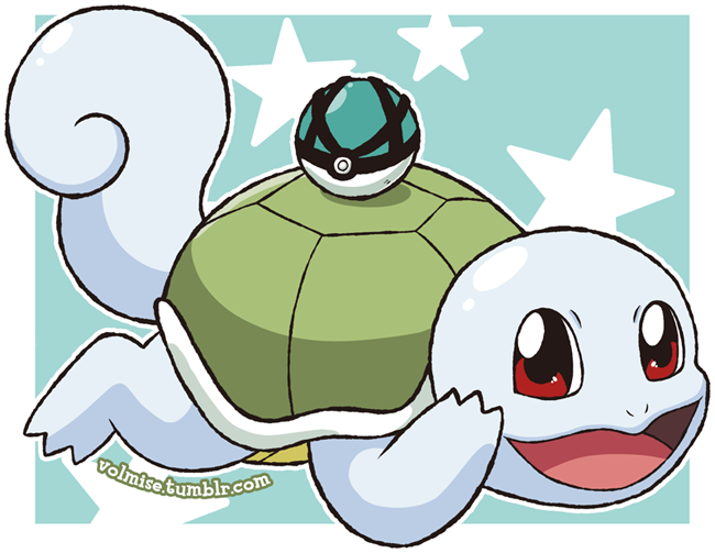 Pokemon Day: Shiny Squirtle by Volmise