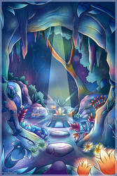 Rainbow Cave by Volmise