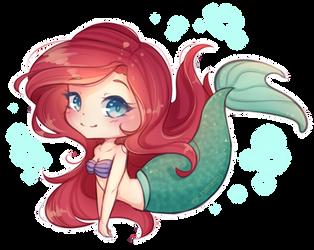 The Little Mermaid by Chimeeri