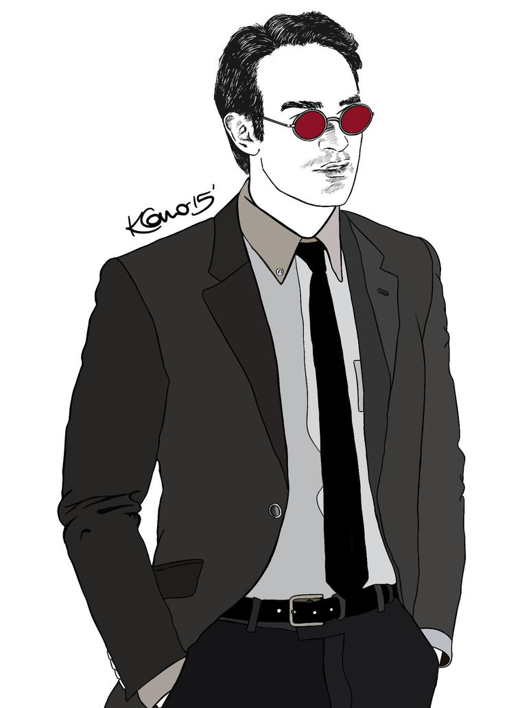Digital Art - Matt Murdock by thekirstyshow
