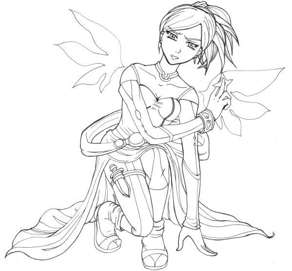 Angel warrior by Nuran-Cawthorne