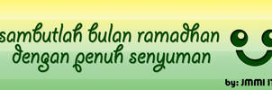 Senyum Ramadhan by ucupumar
