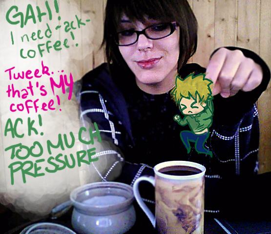 MYcoffee-tweekAndMe-SouthPark by SteVanity