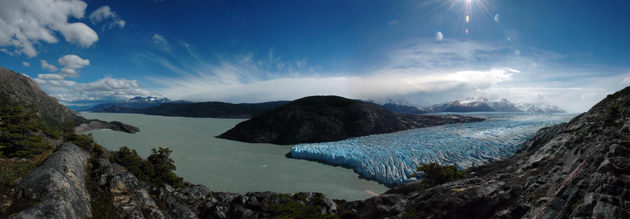 Glaciar Grey 2 Chile by andulce
