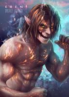 Eren Titan by Logunkov