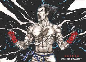 Kazuya Mishima Tekken by Logunkov