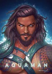 Aquaman by Logunkov