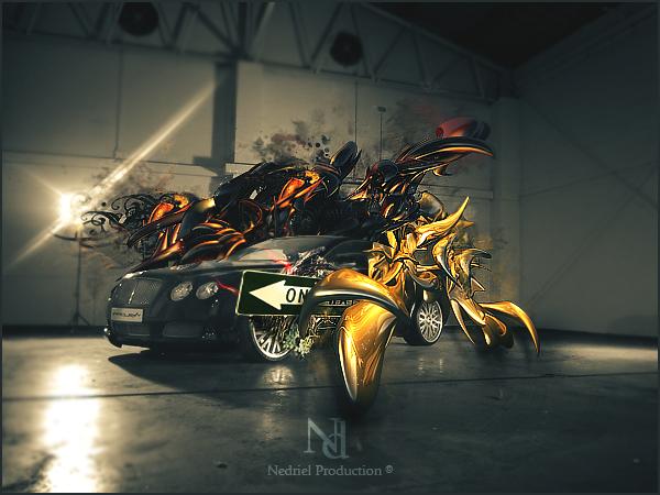 A car, a dream by Nedriel