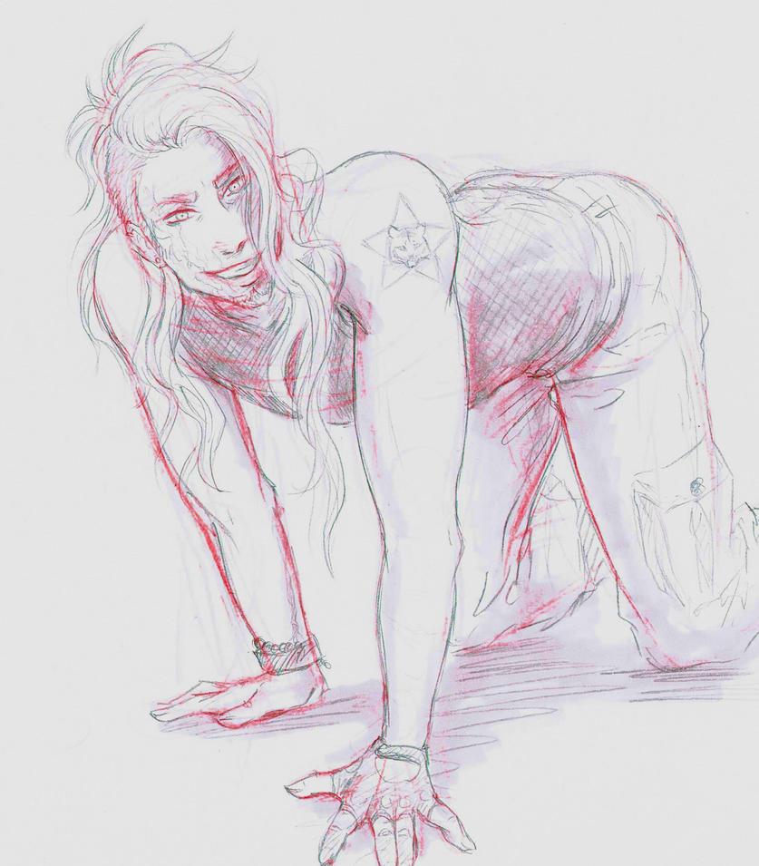 Nikolai Sketch 3# by Levi-sama