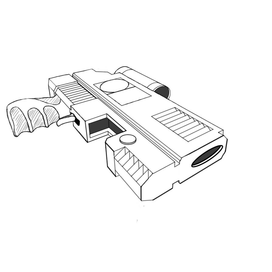 3pt Handgun by Ookamika