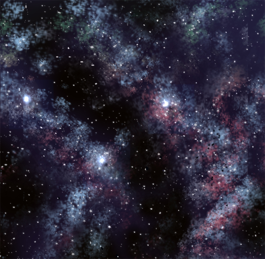 Starfield by marinaawin
