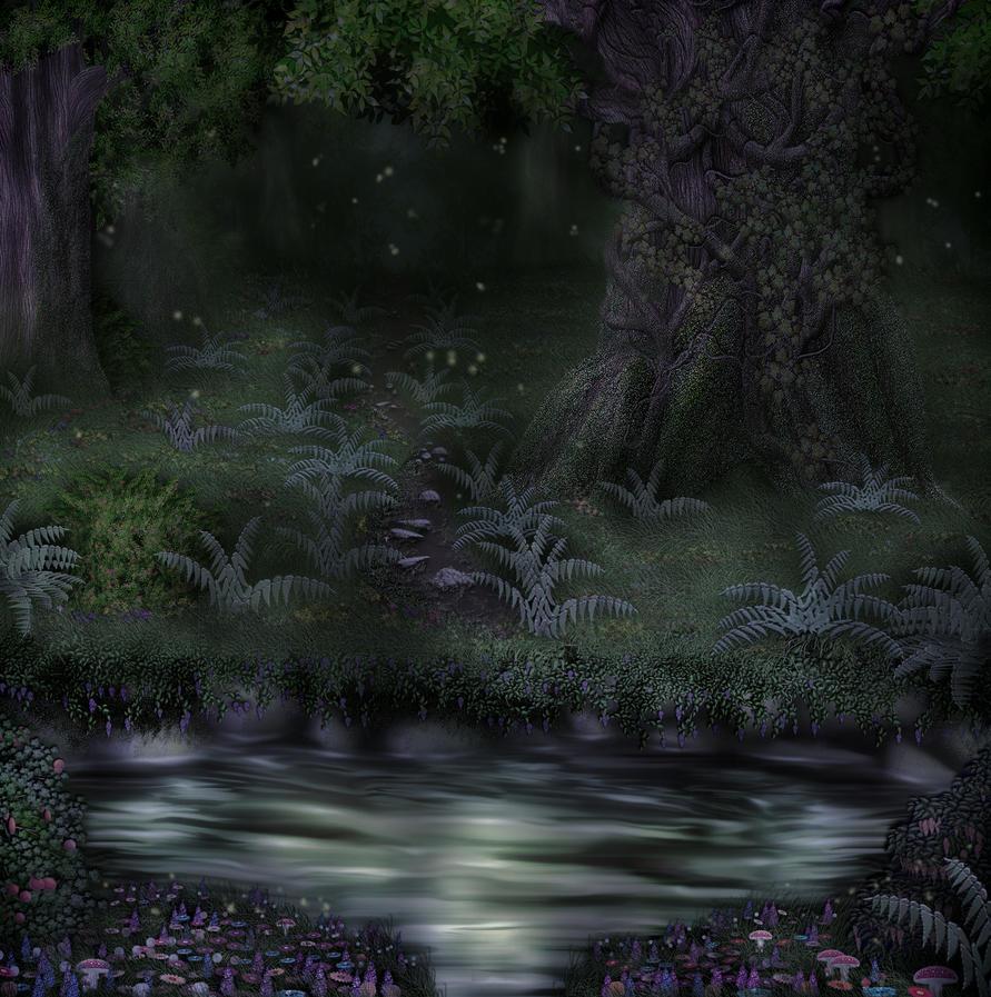 light fantasy art