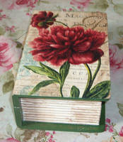Red Flower Book Box by marinaawin
