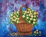 Celandine in a basket
