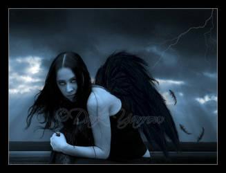Fallen Angel by Dark-Yarrow