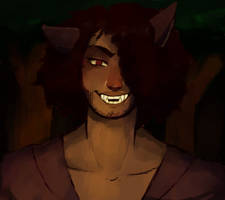 Werewolf Thomas by aramiplusart