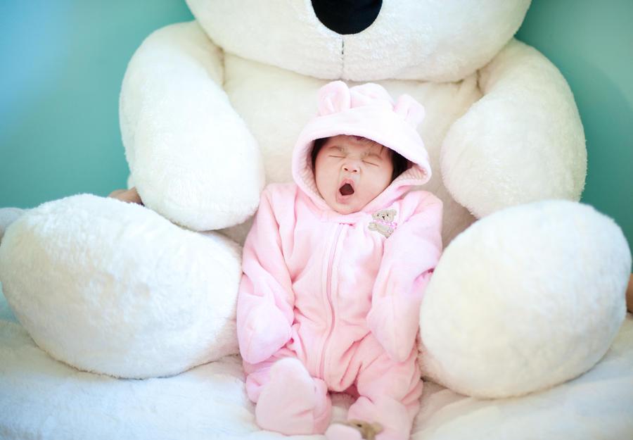 Cute Teddy Bear Baby by lindaisontop