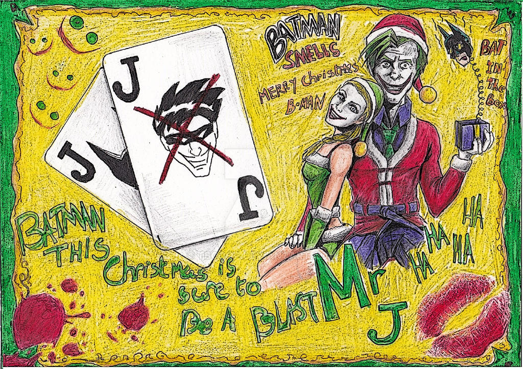 Joker Christmas card by tbcoop on DeviantArt