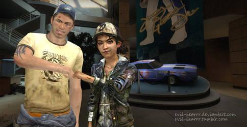 Clem And Ellis by evil-bearrr