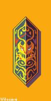 Dayak shield by Wilacoro
