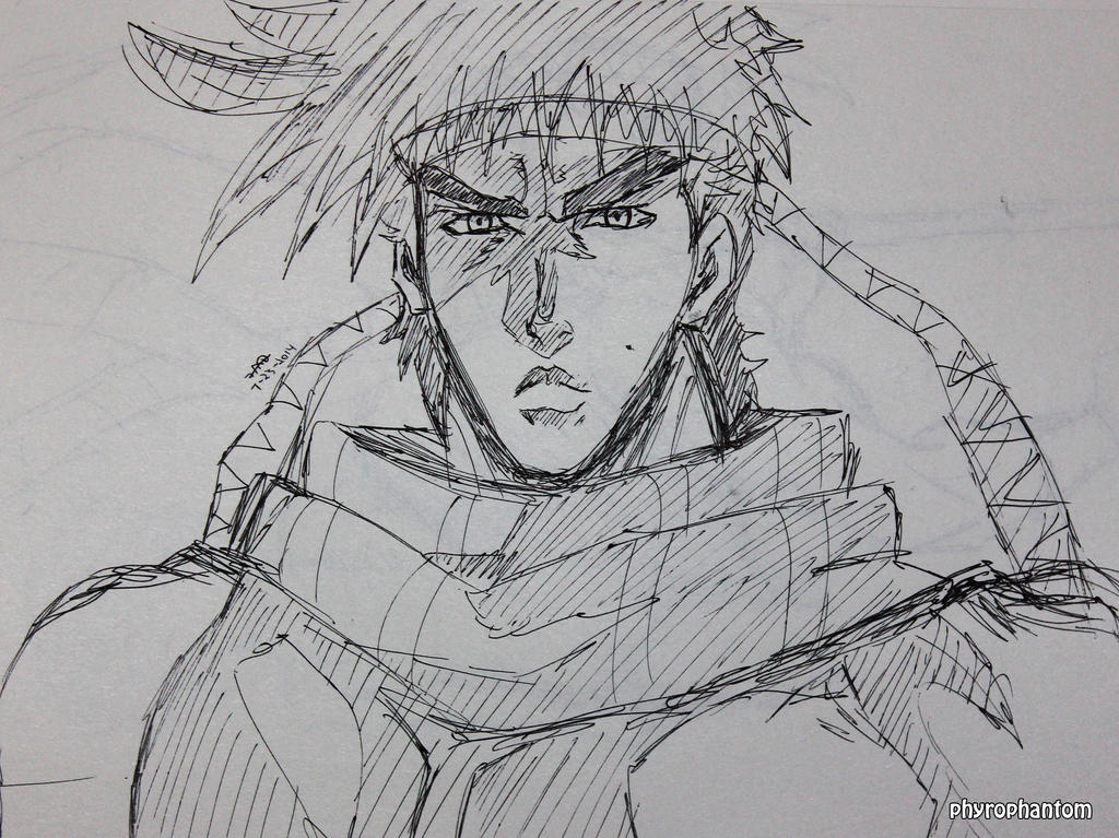 Joseph Joestar by PhyroPhantom
