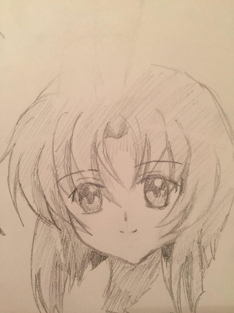 Random Rena Sketch by PhyroPhantom