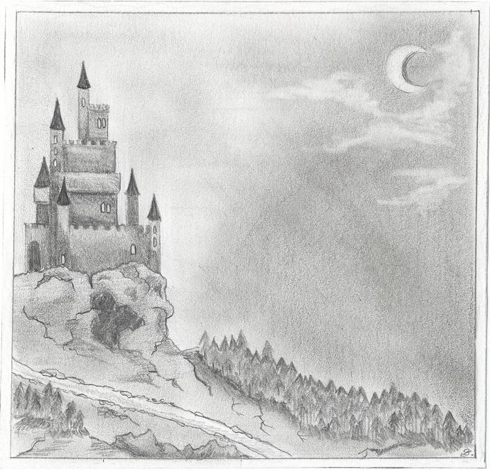 Bathory's Castle by Emy4ART