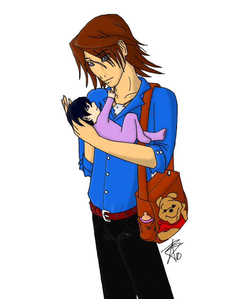 Leon and Xion colored by DuetMaoim
