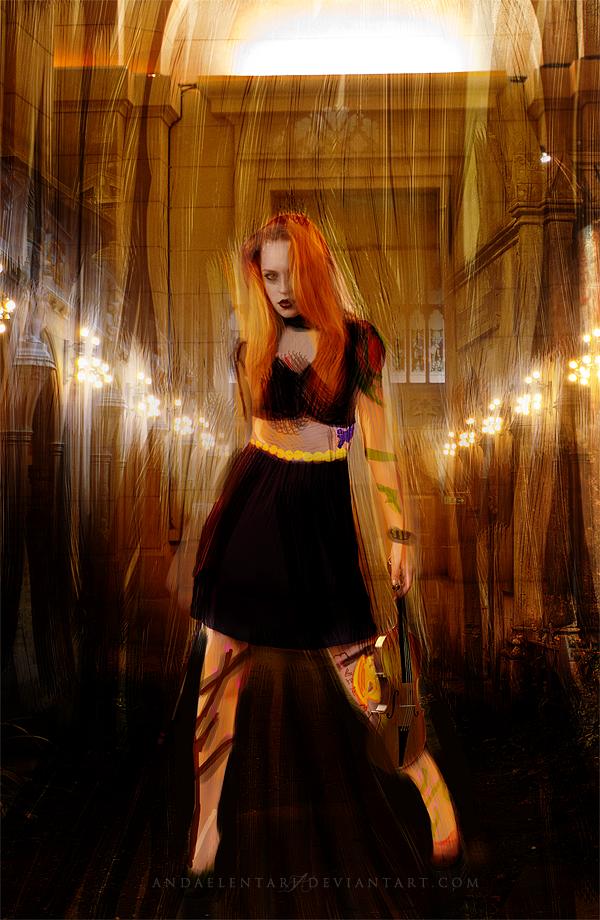 Dark Violinist by Andaelentari