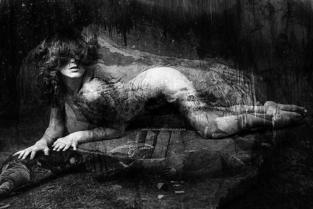 Nameless faceless death by Andaelentari