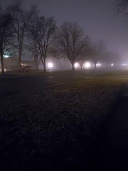 foggy night i