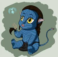 Avatar Chibi W.I.P by Mysticbynd