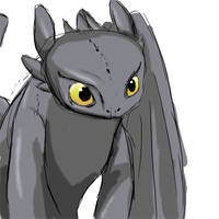 Toothless by Mysticbynd