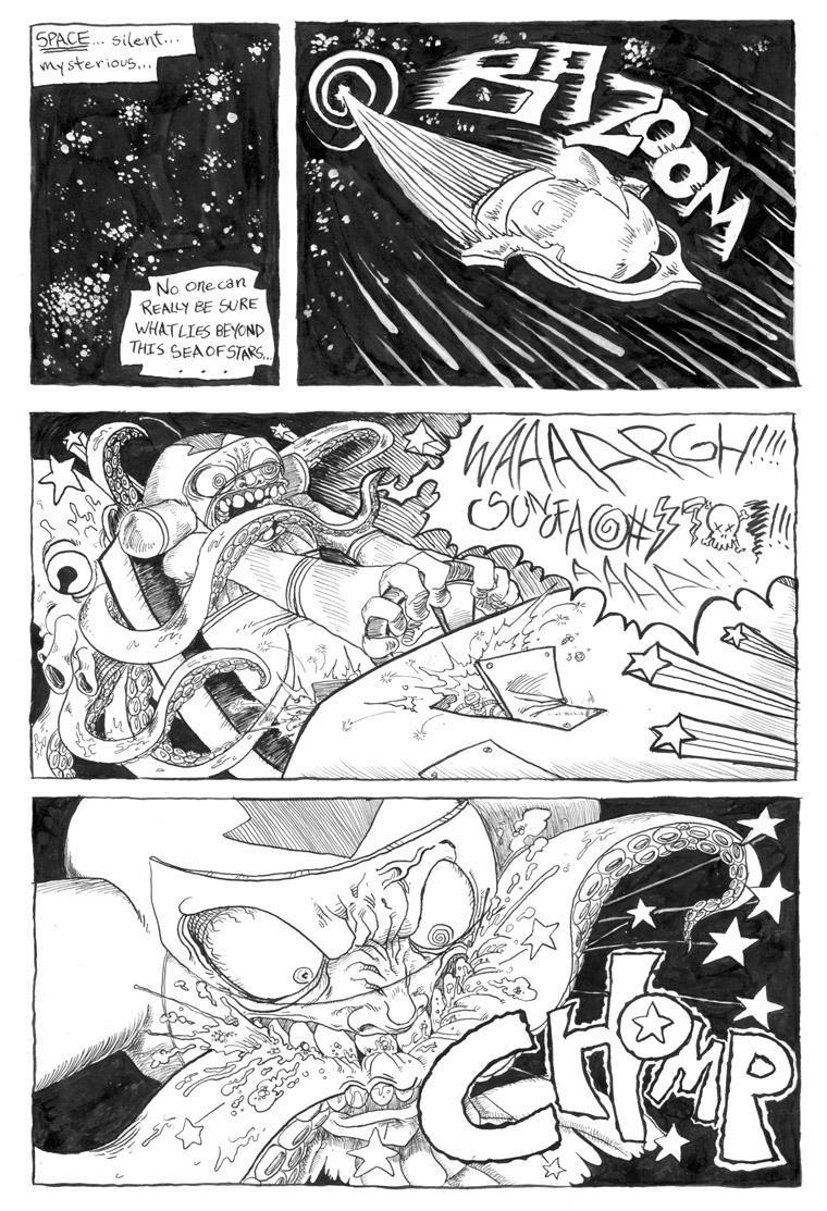 SPACE SUCKS page 1 by mezzoforte