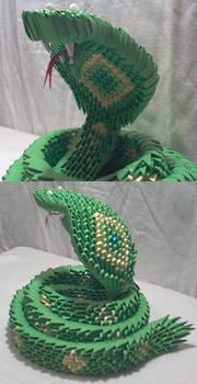 3D Origami Snake