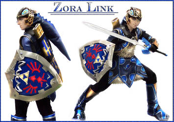 Zora Armor Link by GingerAnneLondon