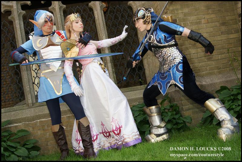 Zelda is in Trouble by GingerAnneLondon