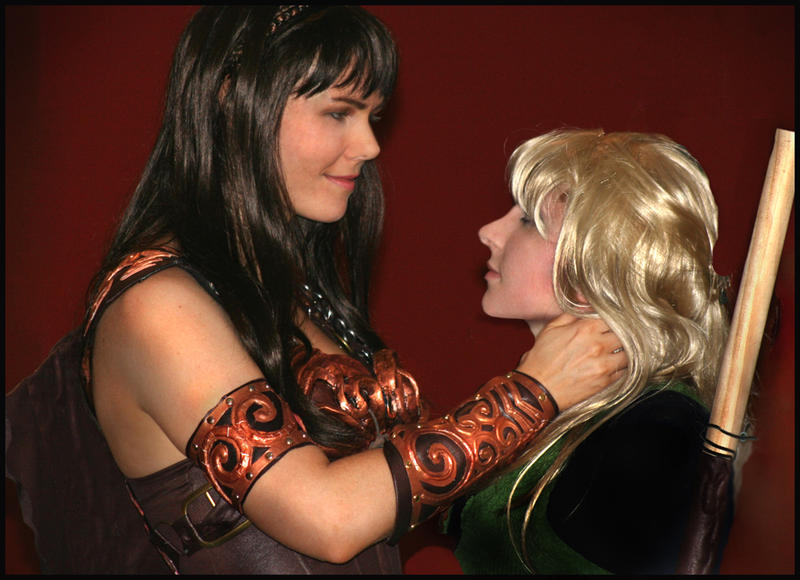 xena and gabrielle lesbian sex