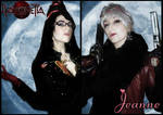 Bayonetta and Jeanne by GingerAnneLondon