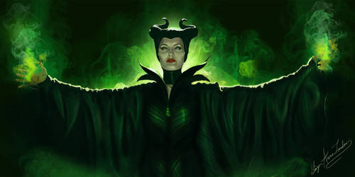 Maleficent by GingerAnneLondon