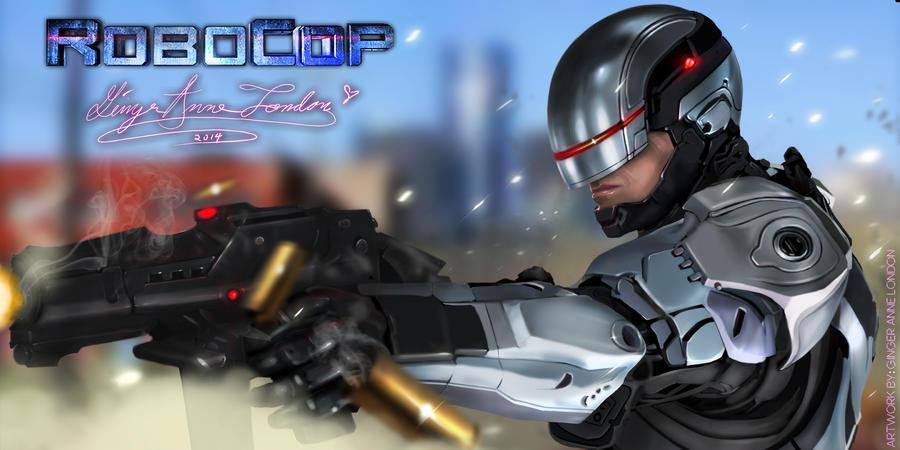 RoboCop 2014 by GingerAnneLondon