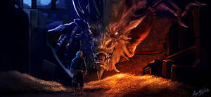 SMAUG The Dragon from THE HOBBIT