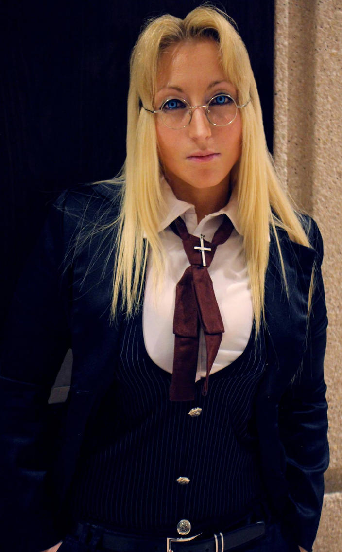The Gentlewoman Integra Hellsing by GingerAnneLondon
