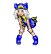 Pokemon Trainer Sprite- Trill by Remnika