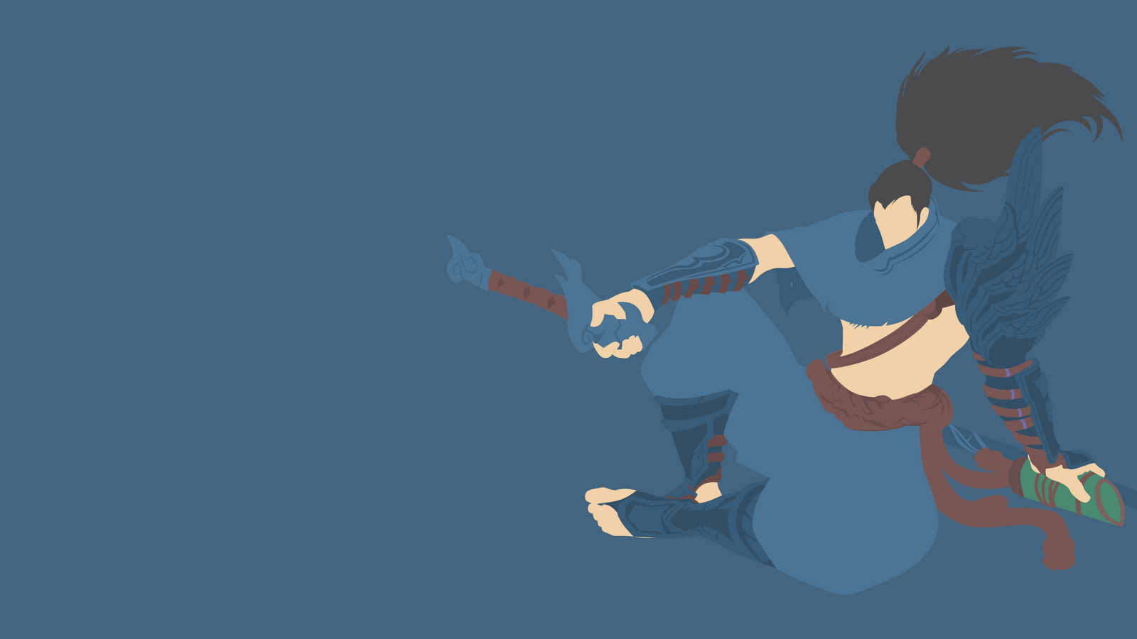 Kalista League Of Legends Minimalist Wallpaper By: League Of Legends By Sangpendosa On