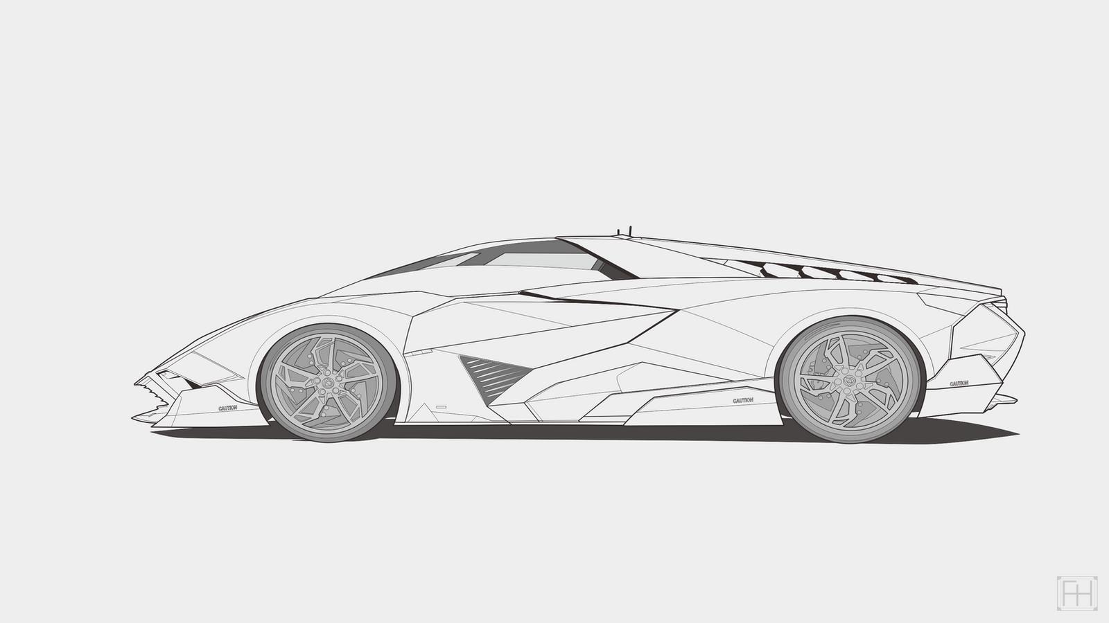 Image Result For Lamborghini Egoista Coloring