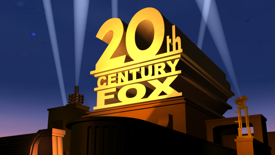 20th century fox logo 3d model remastered by