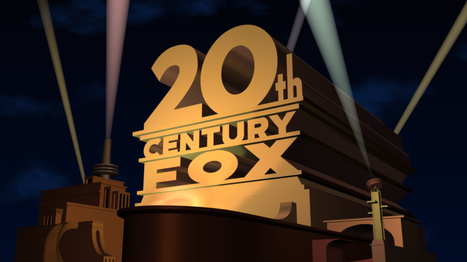20th Century Fox logo 1956 Remake Modified 2 0 by ethan1986media on